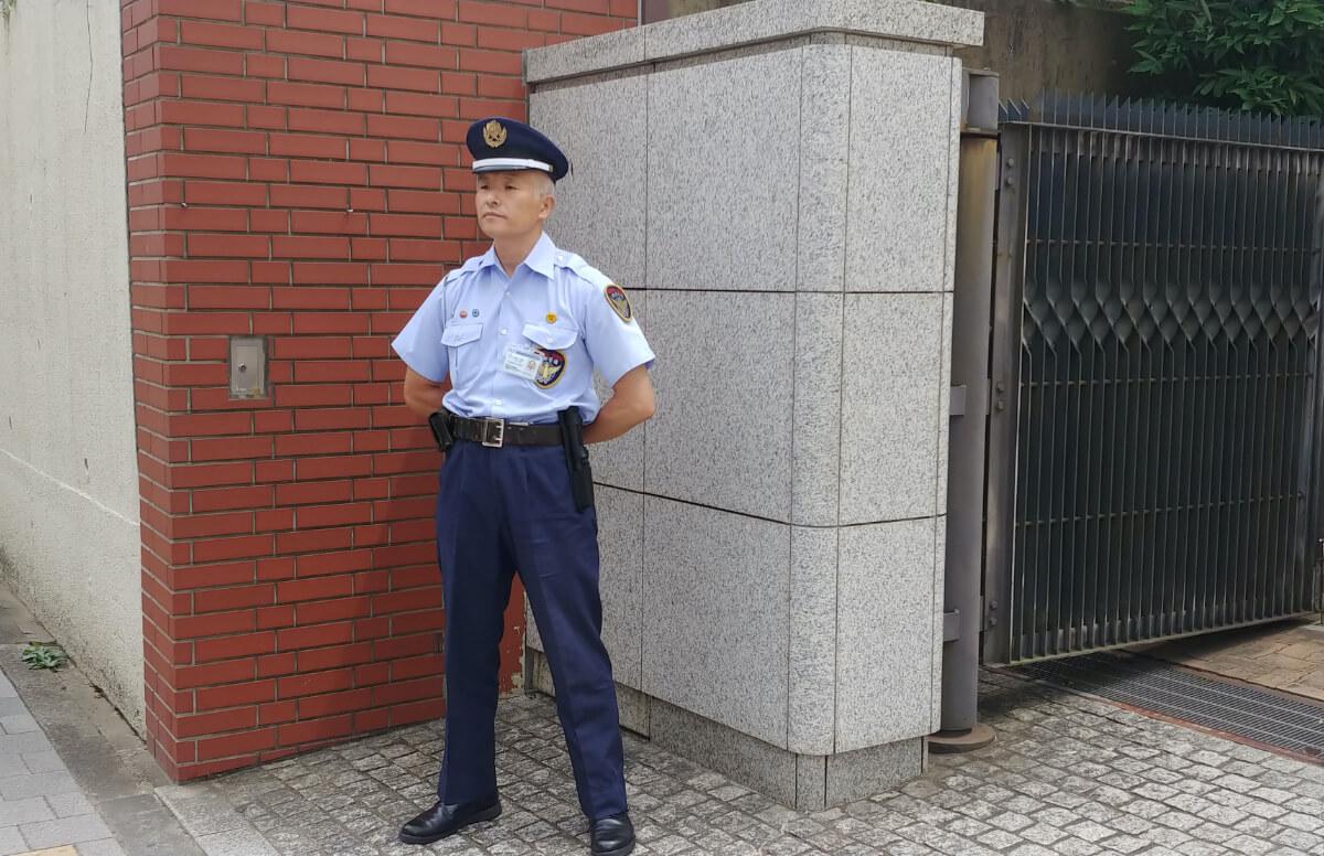 立哨警戒業務